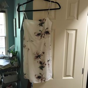 American Threads White Floral Dress
